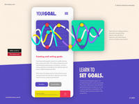 YOUR GOAL. ios application application app design create iphone ios app interface uidesign uxdesign ux ui app inspiration type design tipo composition design type typography