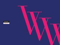 Type Work - Letter V