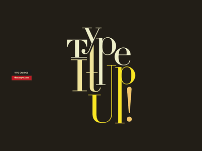 Type It Up! Black inspiration type design tipografia tipo composition typography type