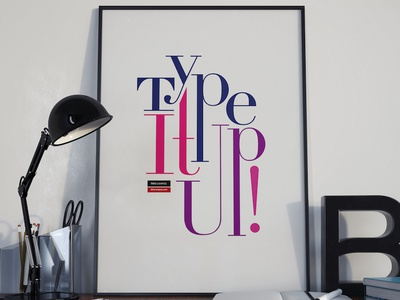 Type It Up! Poster