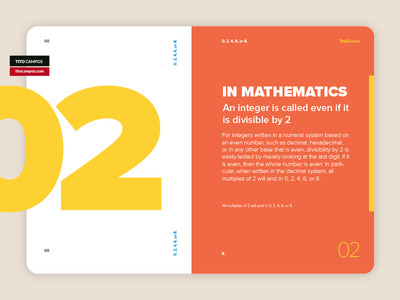 02 IN MATHEMATICS | 02 EN MATEMATICAS interface ui product card branding graphic design composition type typography editorial design layout design design art card card editorial layout 02