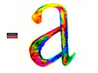Ejercicio letra a - serif