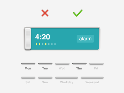 Alarm Clock - add a new alarm