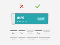 Alarm Clock - add a new alarm