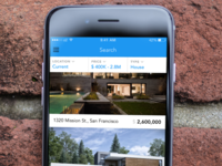 Real Estate iOS App Search