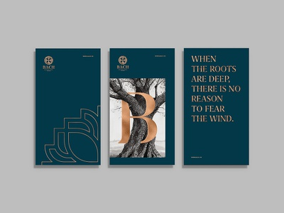 Bach Boutique Hotel Branding Poster bach boutique branding hotel