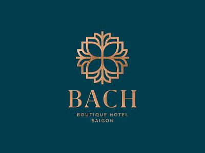 Bach Boutique Logo by Hoa Thi saigon bach hotel boutique design logo
