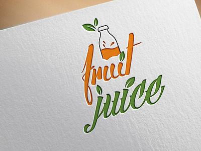 fruit juice custom vactor flatminimalist modern creative minimalist logo logodesign flat minimal