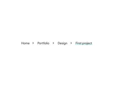 Daily UI 056 - Breadcrumbs breadcrumbs 056 colorful design flat minimal dailyuichallenge ui dailyui