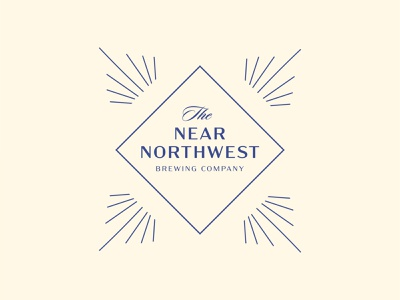 The Near Northwest Brewing Company vector illustration logodesign graphicdesign branding design branding logo
