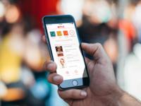 Netflix for iPhone - Improved Hamburger Menu