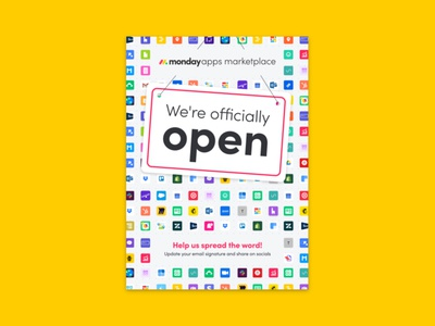 monday Apps Marketplace launch