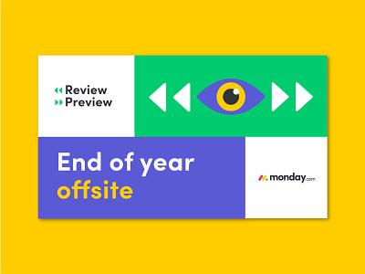 2020 offsite branding eye 2021 offsite branding design