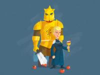 Cersei Lannister & Mount