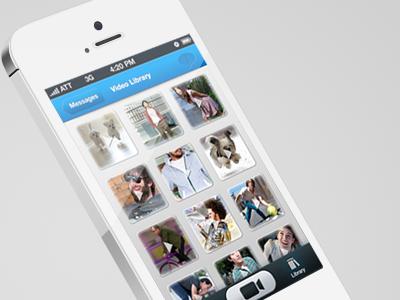 Twitvid App app design