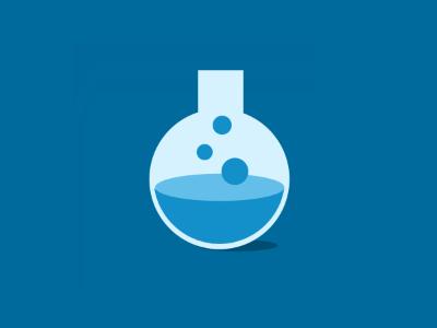 Lab Icon flat icon design
