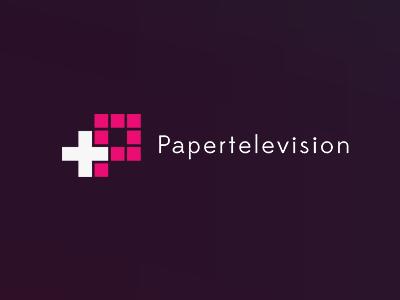 Papertelevision Logo logo design