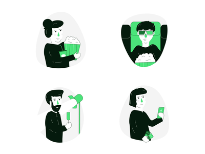 Filmgrail – Illustrations animation design motion illustration