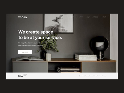 MOJO Architects – Website designer interior architecture web design ux web design ui