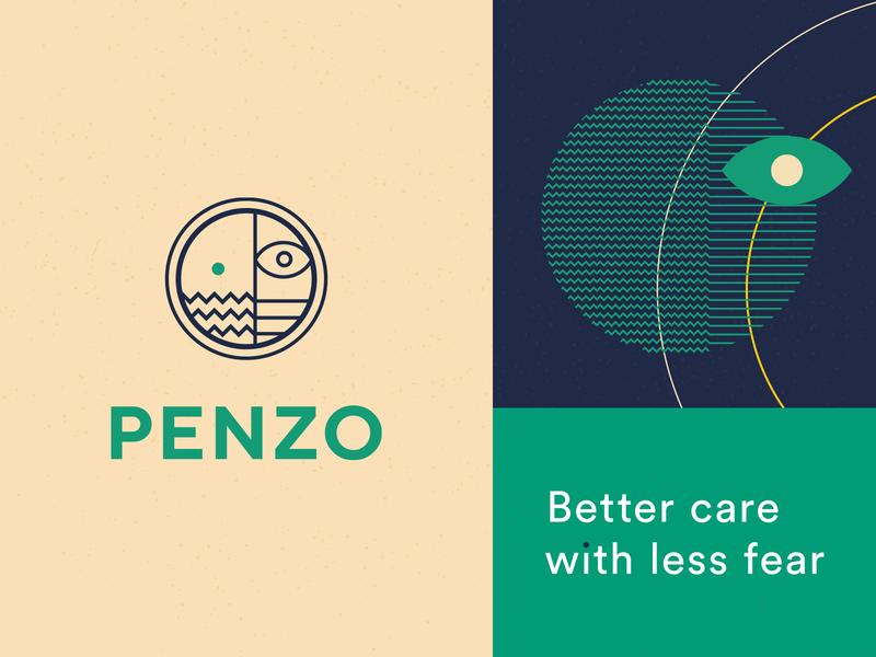 Penzo – Branding mark symbol identity logos branding design branding