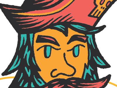 Pirate dribbble