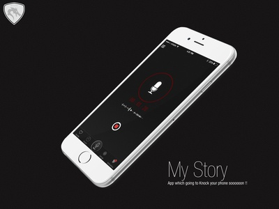 My Story login iphone6 record iphone story
