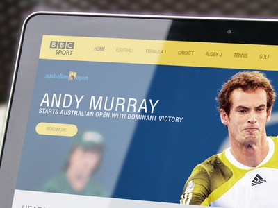 BBC SPORT - Concept UI