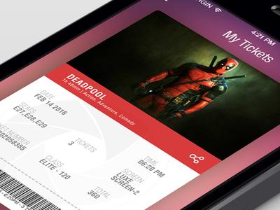 Ticket App iphone movie tickets my