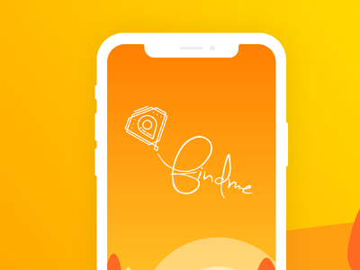 Splash - FindMe splashscreen creativemints adobexd findme