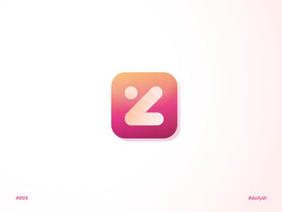 Fantasy Z App - Daily UI n°005 logo app ui design minimal pink application app design app ui app dailyui