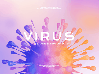 Virus PNG Objects for Coronavirus Awareness. Free Download covid-19 viruses transparent png pandemic microbiology medicine medical laboratory illustration covid 19 coronavirus cinema 4d c4d biology bacteria backgrounds abstract 3d