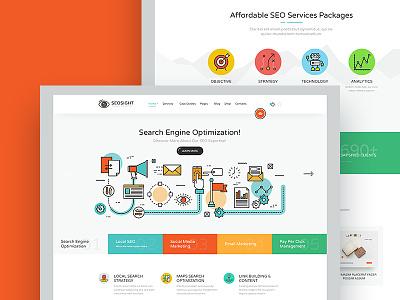 Seosight - SEO, Digital Marketing Agency HTML Template digital agency marketing seo psd template html