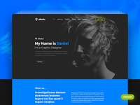 Albedo - Free Personal Onepager PSD Template