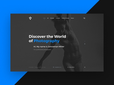 Albedo - Photography PSD Template