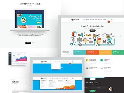 Seosight - SEO, Digital Marketing Agency WP Theme template website flat outline theme wordpress seo