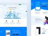 Utouch - App Startup HTML Template