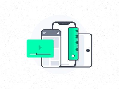 Mobile App Interfaces Illustration app interface mobile app website interface app iphone x illustration icon