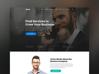 Albedo - Business and Corporate WordPress Theme