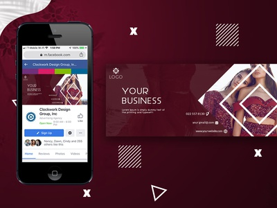 Facebook cover design. digital marleting fashion web banners cover photo design branding ui ux cover photo vector illustrator photoshop gradient social media banner web banner instagram post modern 2021 creative social media facebook ad facebook cover photo