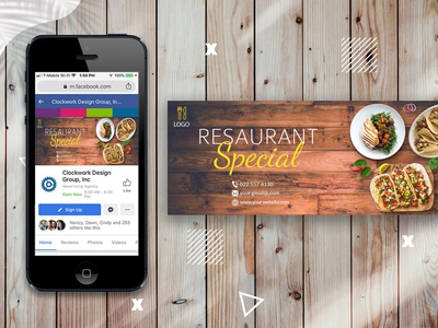 restaurant food 02  facebook cover photo mockup restaurant cover restaurant digital marketing facebook ads web banners vector ui ux illustrator banner photoshop creative gradient facebook post social media banner web banner instagram post modern 2021 social media facebook cover