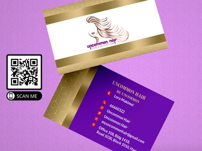 Mockup 12 costume businesscard wig business card design logo visiting card glitter credit card makeup artist business cards