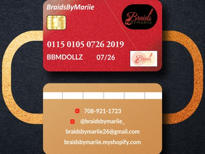 Mockup 52 costume businesscard wig business card design logo visiting card glitter credit card makeup artist business cards