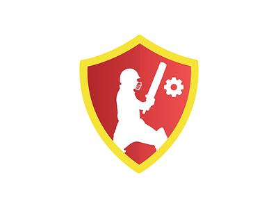 Logo Design for Cricket API design minimal api cricket logo