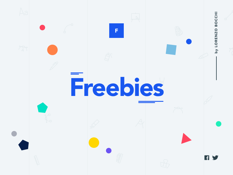 Freebies shape colourful bright fresh flat minimal freebies freebie design art direction ux ui