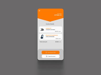 Daily UI 46 Invoice dailyui 046 daily ui 046 invoice design invoices