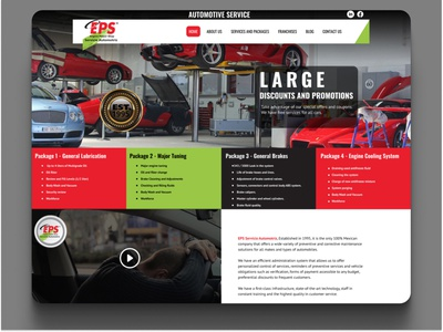 Daily UI 051 Press Page red green car dailyui 051 daily ui 051 car services press page