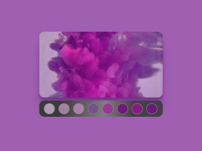 Daily UI 060 Color Picker dailyui 060 color picker purple color