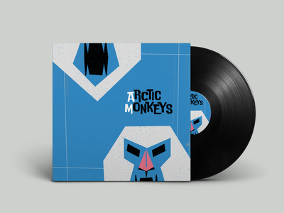 Arctic Monkeys AM album cover inspiration saulbass monkeys vinyl cover vinyl arctic monkeys illustration design