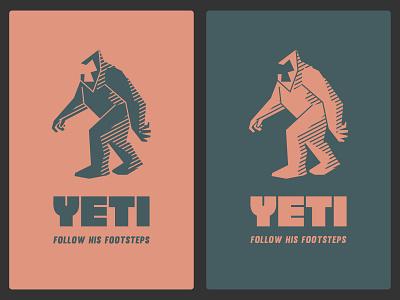 Yeti. 1 forest yeti vector logo design logo brand identity illustration branding brand design design