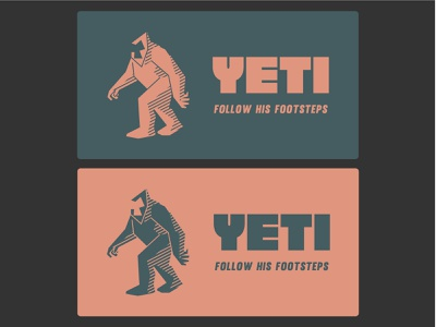 Yeti. 2 forest yeti vector logo design logo brand identity illustration branding brand design design